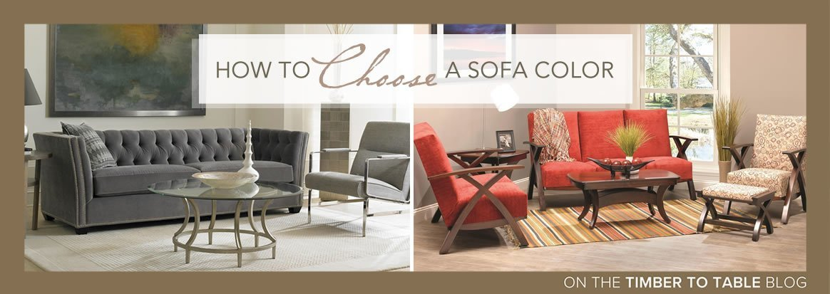 How to Choose a Sofa Color