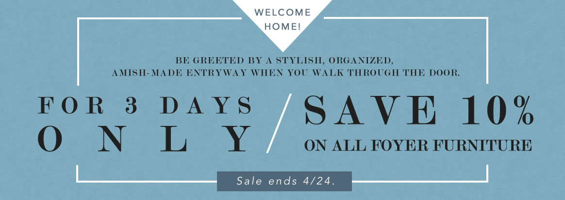 Entryway Furniture Sale