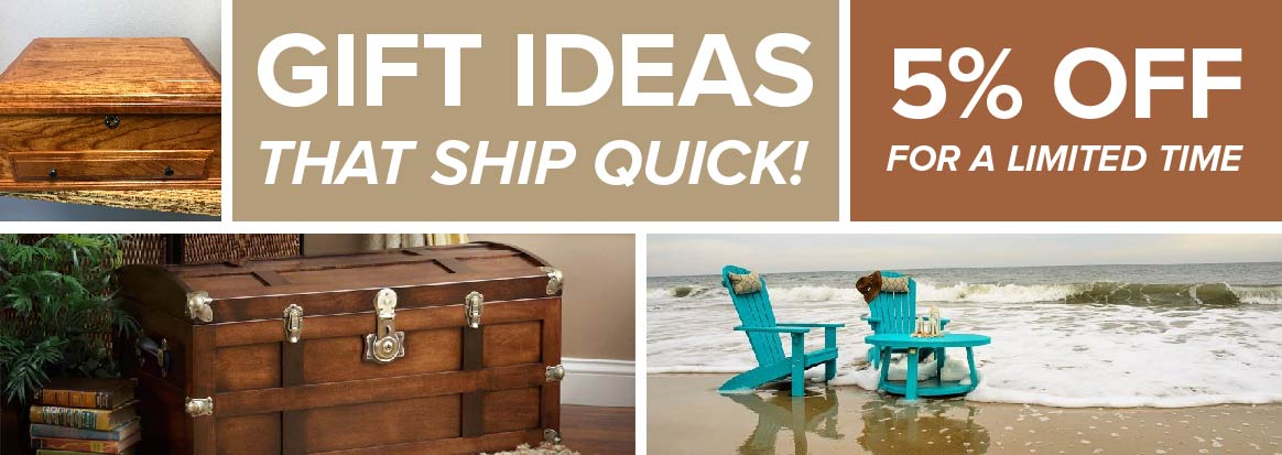 Quick Ship Amish Furniture Home Goods