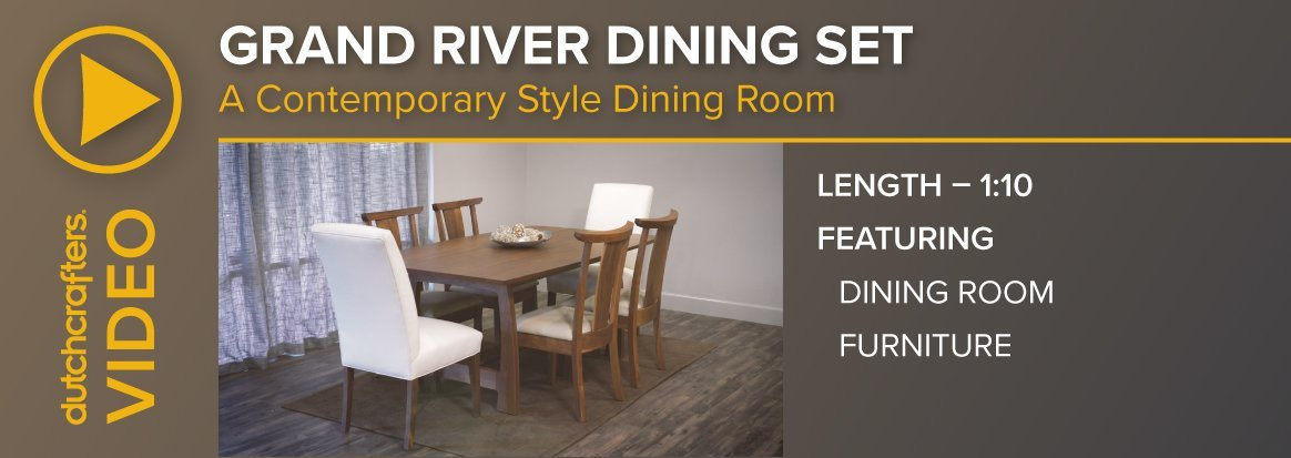 Grand River Dining Set Video
