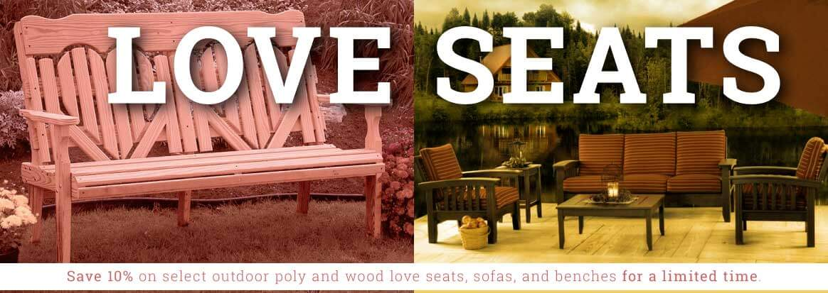 Loveseats Outdoor Sale