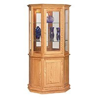 Curio Cabinets and Display Cases