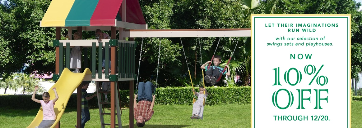 Swing Sets and Playhouses Sale