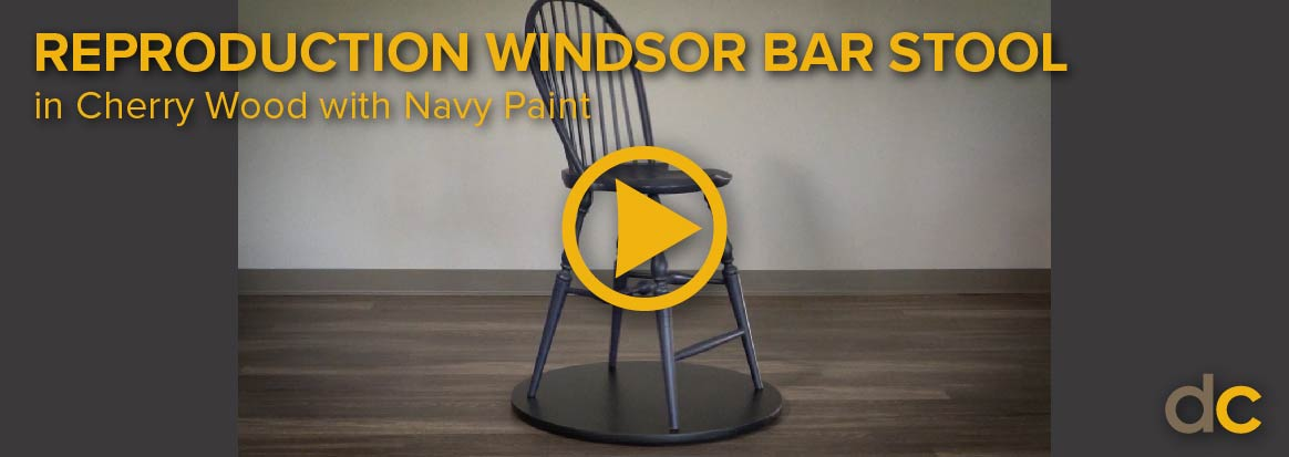 Windsor Bar Stool Video