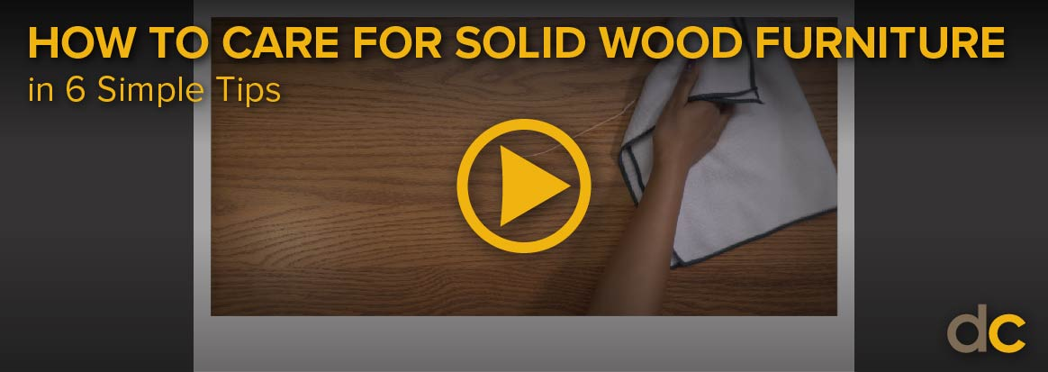 Wood Care Vid Video