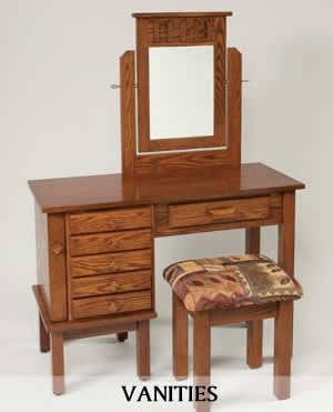 Bedroom Vanities and Dressing Tables