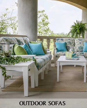 Outdoor Loveseats and Sofas