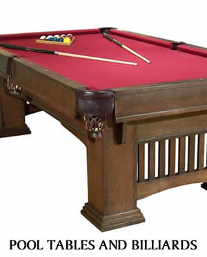 Pool Tables and Billiards