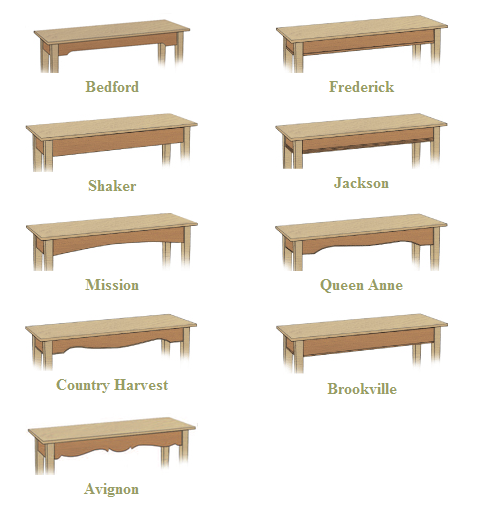Furniture Glossary
