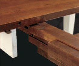 Wood Table Leaf Slides Brokeasshome Com
