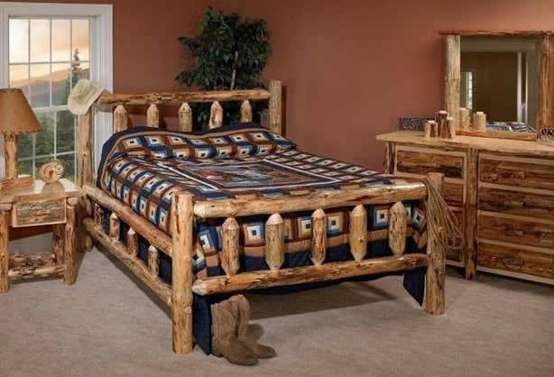 Log Furniture Style Bedroom