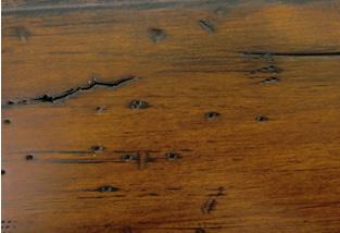 Distressed Amish Hardwood Furniture