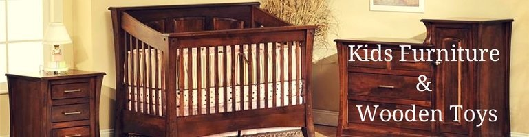 Amish Kids Furniture and Wooden Toys