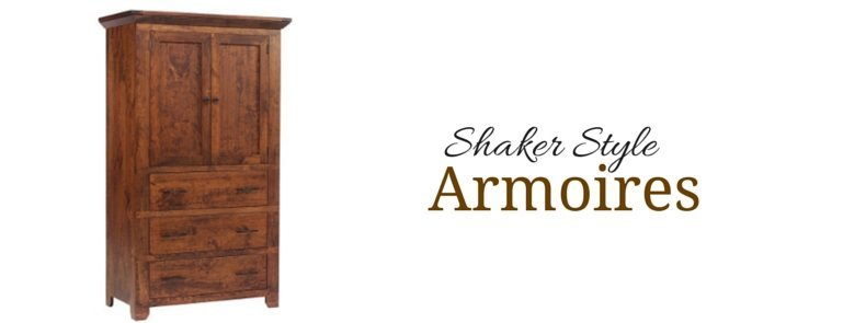 Shaker Amish Made Armoires And Wardrobes From Dutchcrafters Amish