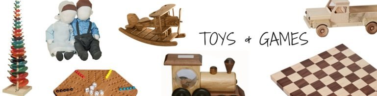 Amish Toys and Games Banner