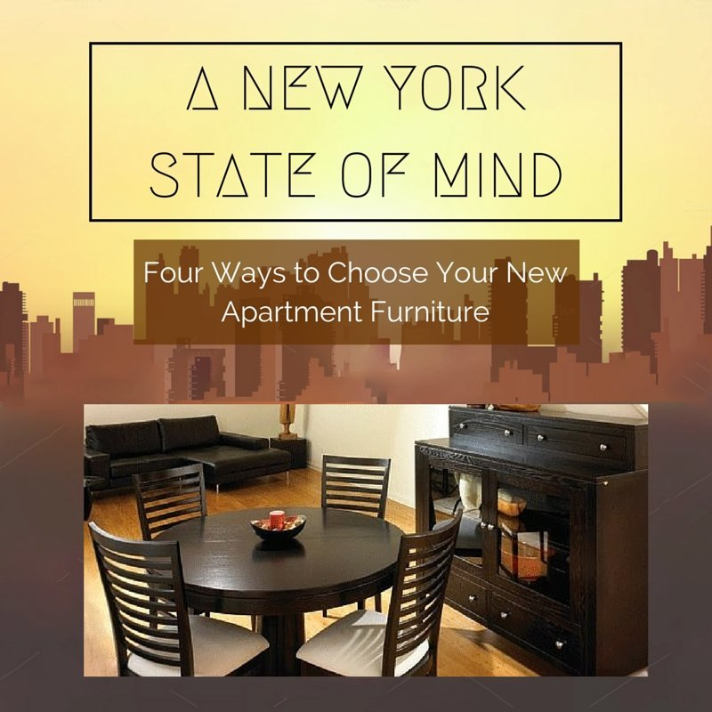 A New York City State of Mind - Four Ways to Choose Your New Apartment Furniture