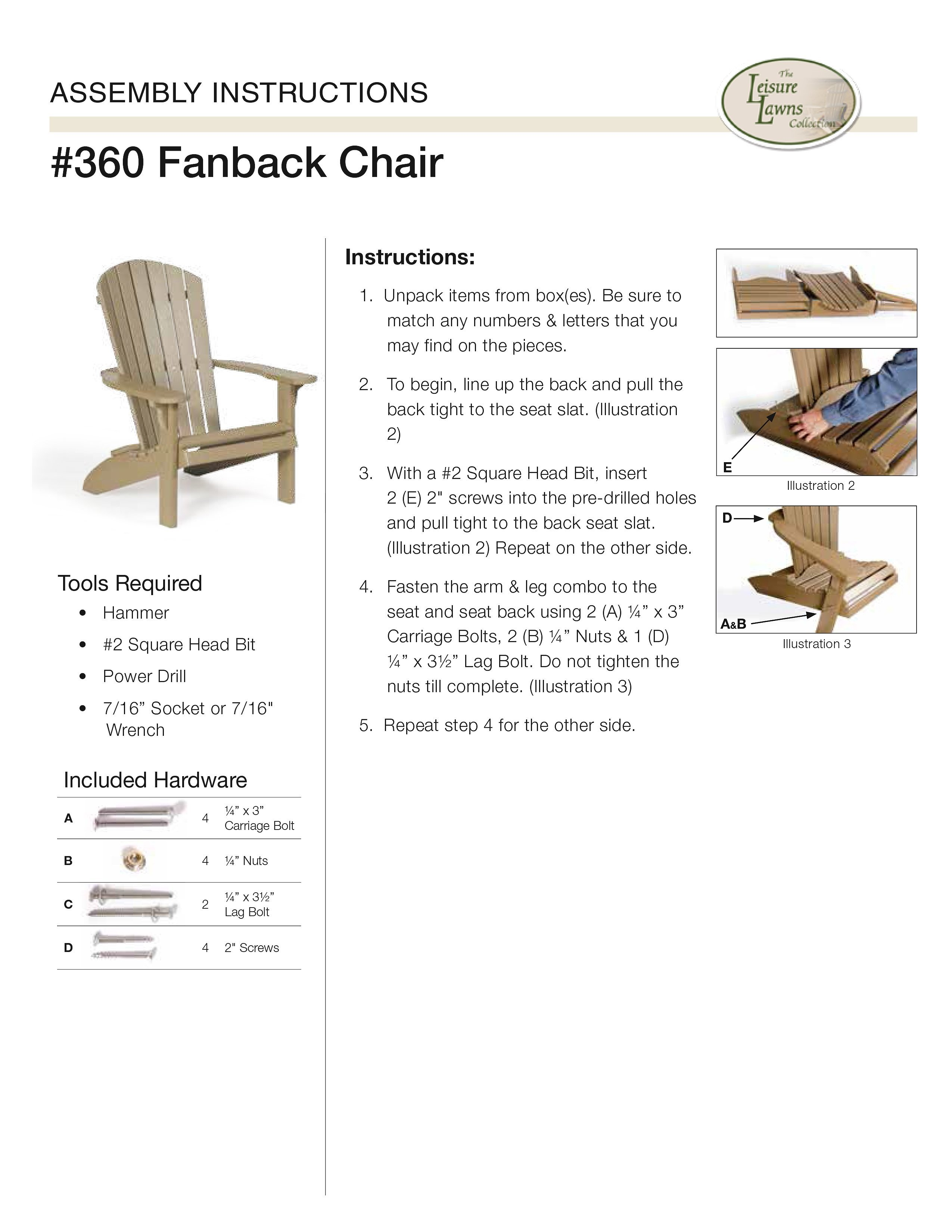 How To Instructions - Assembling The Fan Back Adirondack Chair  sc 1 st  DutchCrafters & Poly Adirondack Chairs Table Set from DutchCrafters Amish Furniture