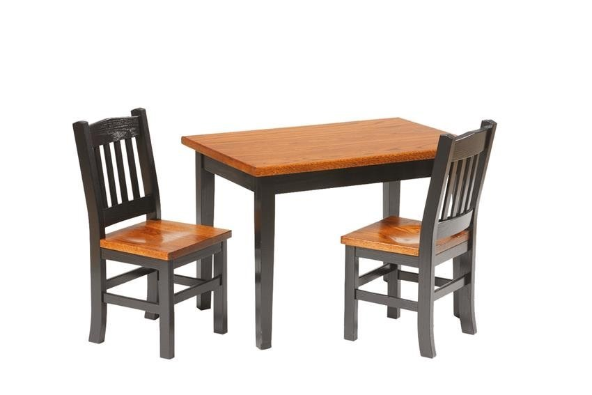 solid wood kids  table and chairs. Amish Made Activity Tables for Kids by DutchCrafters Amish Furniture
