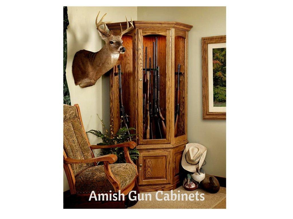 Amish Gun Cabinets
