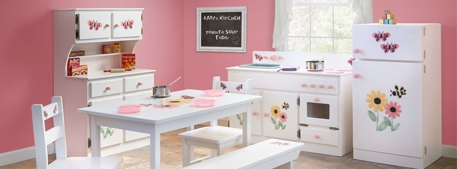 Wooden Kitchen Set For Toddlers