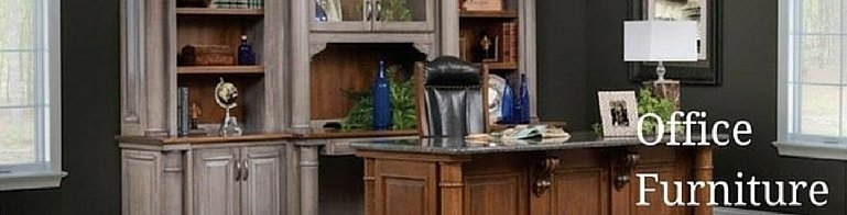 Custom Solid Wood Office Furniture by DutchCrafters Amish Furniture