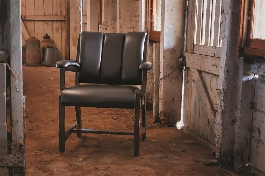 A courtroom chair with comfort to spare