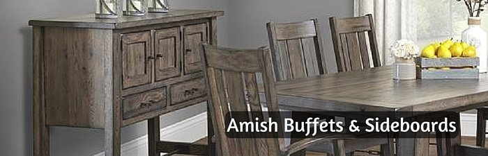 Amish Buffets & Sideboards