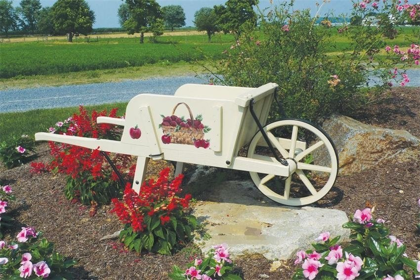 Amish wheelbarrow