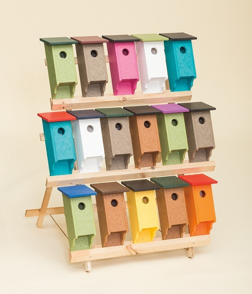 amish bird boxes