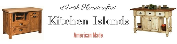 Amish Handcrafted Kitchen Islands