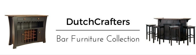 Solid Wood Bar Furniture from DutchCrafters Amish Furniture