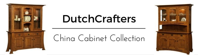 China Cabinet Collection from DutchCrafters Amish Furniture