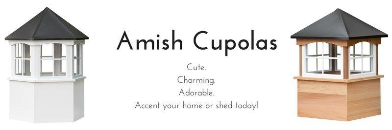 amish cupolas