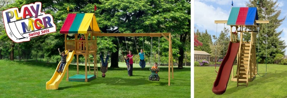 Play Mor Swing Set Collection