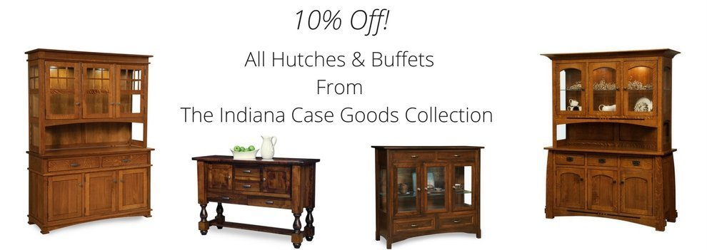 10% Off All Dining Hutches & Buffets