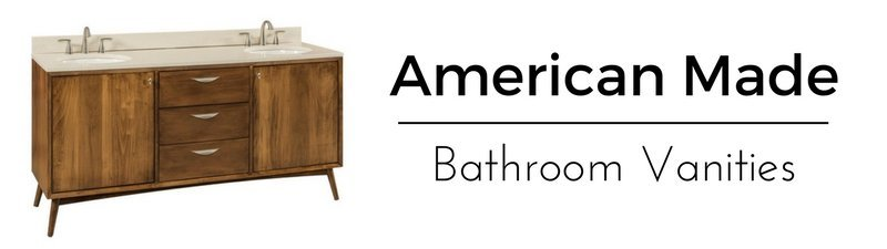 American Made Bathroom Vanities - Amish Handcrafted From Solid Wood