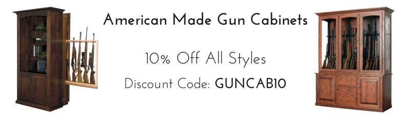 American Made Gun Cabinets - 10% Off All Styles