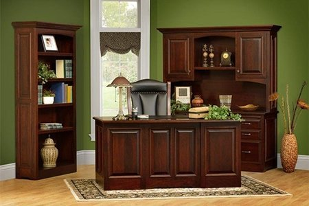 Cherry Wood Furniture in the Liberty Office Set