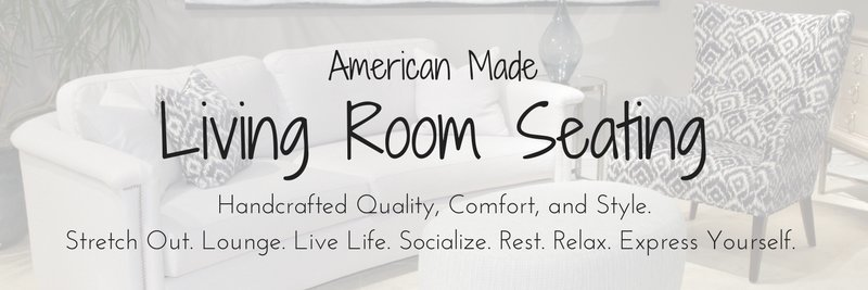 American Made Living Room Seating, Amish Living Room Seating