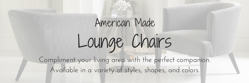 American Made Lounge Chairs, Amish Lounge Chairs