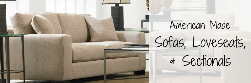 American Made Sofas Loveseats Sectionals Amish