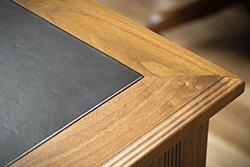 Corner of Desk in Walnut Wood