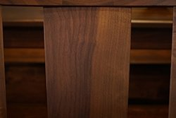 Back of Chair in Walnut Wood