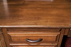 Sample of brown maple furniture