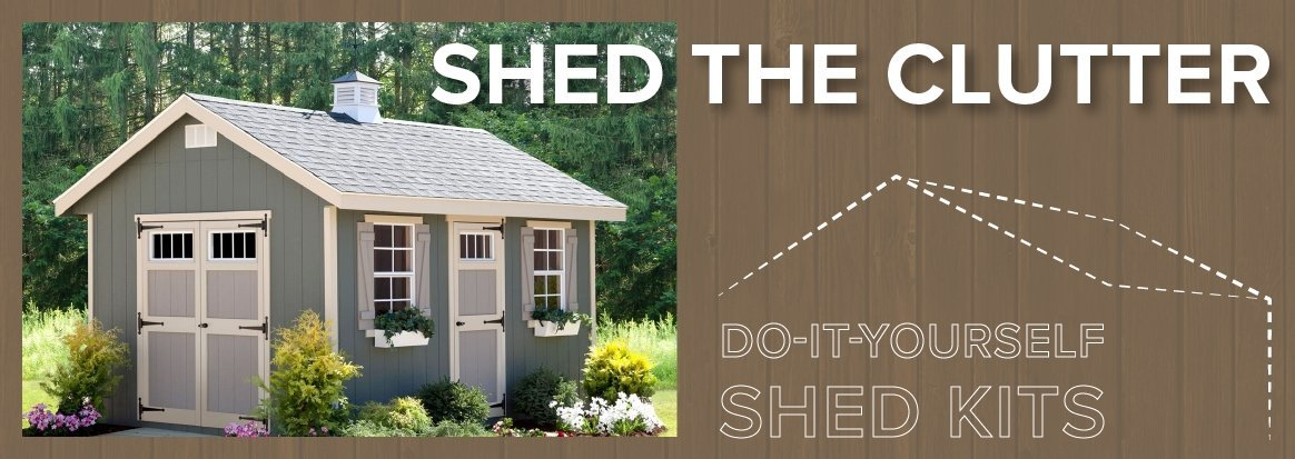 DIY shed kits, amish shed kits