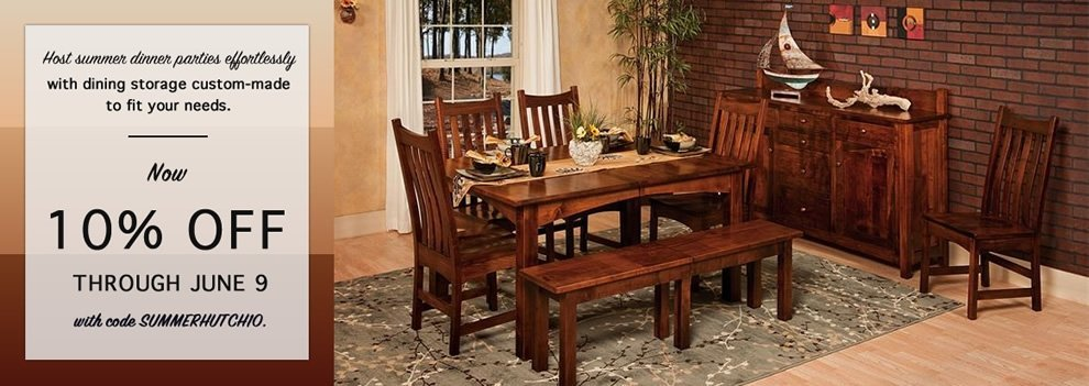 Shaker Side Board Server | Amish Dining Room Furniture