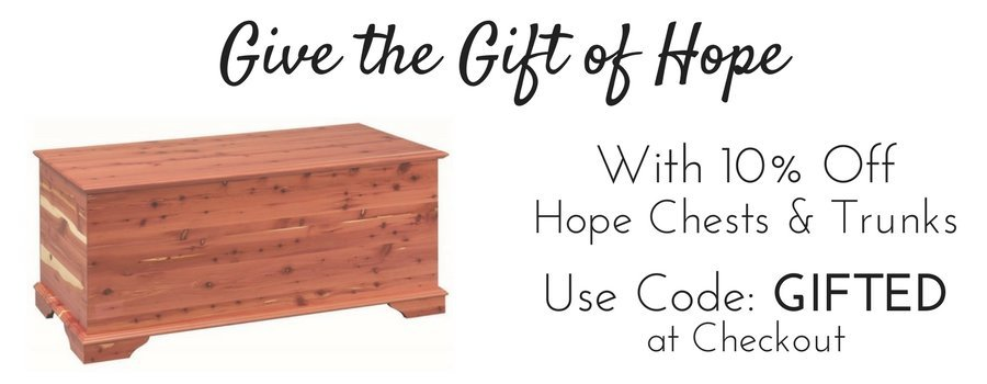 poly furniture on sale - Hope Chests