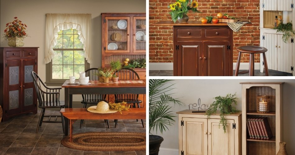 Country Traditions Pine Furniture Collection