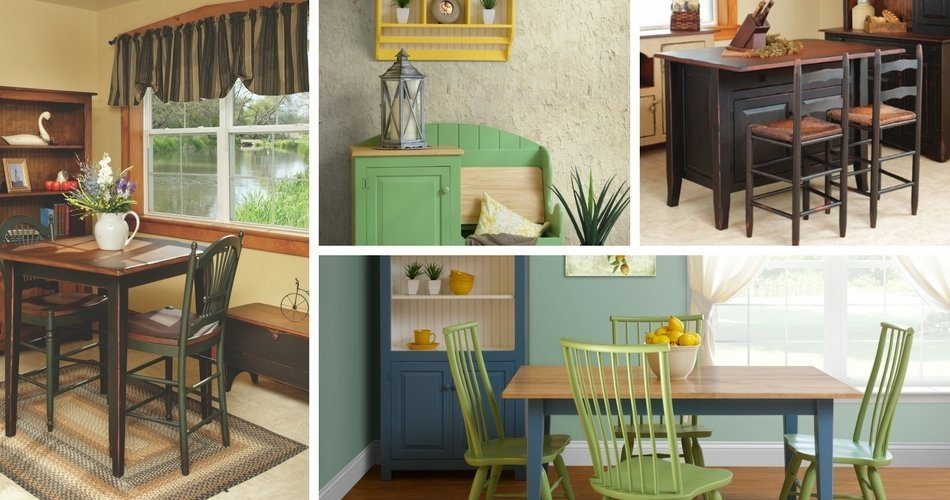 Country Cottage Pine Furniture Collection from DutchCrafters Amish Furniture