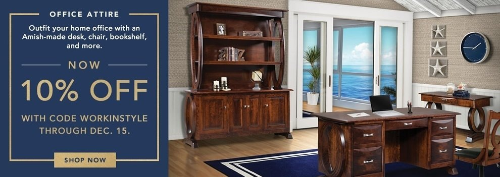 Office Furniture Sale from DutchCrafters Amish Furniture